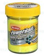 """Паста форелевая """"Berkley"""" NATURAL SCENT TROUT BAIT 50gr FISH PELLET - Sunshine Yellow"""