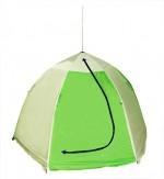 Палатка рыбака 2-м п/автомат брезент (алюм.зв.) (Стэк)