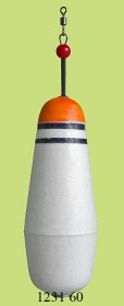 1231 60 Поплавок огруженный (h115/d40) 60г (10шт)