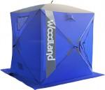 Палатка зимняя WOODLAND ICE FISH 4, 180х180х210см (синий)