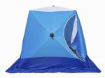 Палатка рыбака КУБ 3 трехслойная LONG (Стэк)