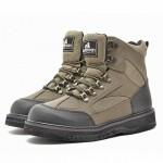 Ботинки Nordman Wade на шнурках с резиново-войлочной подошвой для вейдерсов (черный/зеленый)