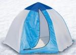 Палатка рыбака 4-м п/автомат брезент (ал.зв) (Стэк)