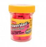 "Насадка форелевая ""Berkley"" Power Nuggets 30gr Original Scent Fluorescent Red (флуоресцентный крас)"