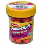 """Насадка форелевая """"Berkley"""" Power Nuggets 30gr Original Scent Fluo Orange (оранжевый)"""
