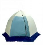 Палатка рыбака ELITE 4-м п/автомат брезент (Стэк)