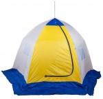 Палатка рыбака КУБ-2 трехслойная дышащая (Стэк)