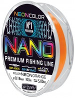"""Леска BALSAX """"Nano Neon Orange"""" 150м 0,30"""