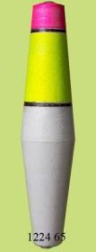 1224 65 Поплавок для дальн. заброса флюор. (h155/d30) 65г (25шт)