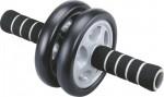 Ролик гимнастич. 2 кол. PRO-Supra неопреновые ручки, обрезиненное колесо