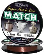 """Леска BALSAX """"Match"""" 30м 0,08 (0,88кг)"""