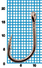 "Крючок SIWEIDA ""SCORPION"" FAULTLESS O'SHAUGHNESSY №2BLN W/R (10шт.)"