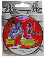 """Леска SIWEIDA """"Samurai"""" (ST3) 100м 0,16 (2,88кг) прозрачная"""