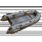 """Лодка ПВХ """"Висла-340"""" (НДНД, цвет серый/черный) NEW2020"""