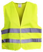 Жилет сигнальный для водителей, цвет лимонный ГОСТ 12,4,281-2014