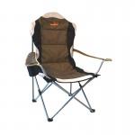 Кресло Woodland Deluxe, складное, кемпинговое, 63 x 63 x 110 см (сталь)