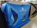 Палатка зимняя WOODLAND ICE FISH DOUBLE 205х205х190 см (синий)