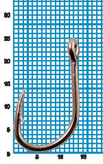 "Крючок SIWEIDA ""SCORPION"" FAULTLESS O'SHAUGHNESSY №2/0BLN W/R (5шт.)"