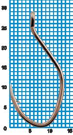 "Крючок SIWEIDA ""SCORPION"" CAT FISH №2BLN W/R (10шт.)"