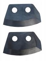 Ножи для ледобура HELIOS HS-110 (полукруглые)