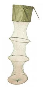 Садок береговой SIWEIDA 4к (d-30см,l-1,3м,нить,яч. 20мм,колышек) (5409021)