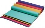 Коврик для йоги и фитнеса INDIGO фиолет. 173*61*0,4см (ПВХ)