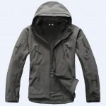 Куртка SoftShell акулья кожа (серый асфальт)
