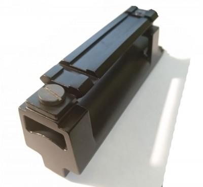 Крышка ствольной коробки на СКС с RIS планкой