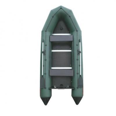 """Лодка ПВХ """"Тайга-340 Киль"""" (под мотор 15 л.с.) (С-Пб)"""