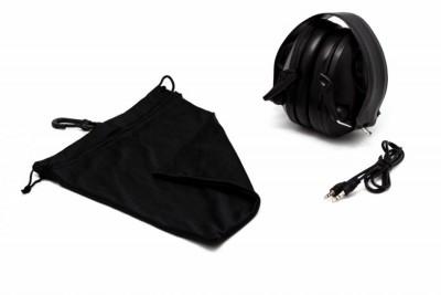 Наушники активные PMX-55 Tactical PRO Black (26-85 ДБ) черные